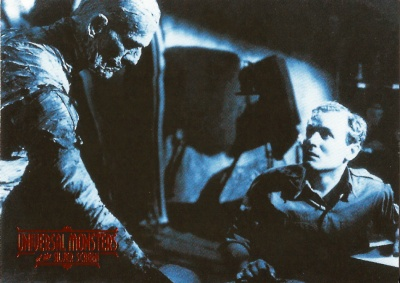 Universal Monsters of the Silver Screen Trading Cards #10