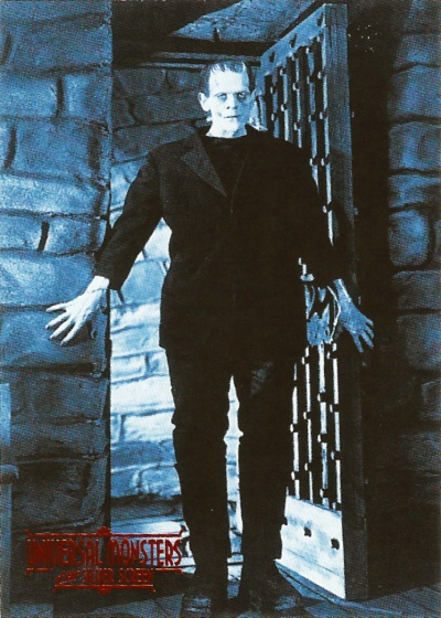 Universal Monsters of the Silver Screen Trading Cards #9
