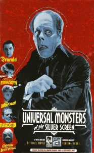 Universal Monsters Trading Cards box lid