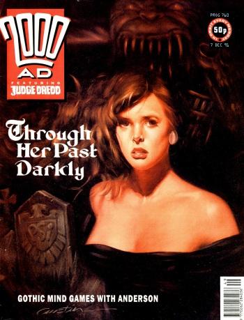 2000AD comic Prog 760