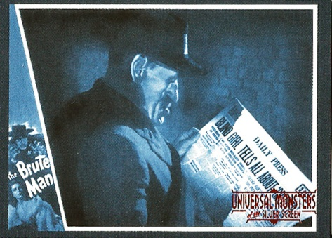 Universal Monsters Trading Cards #67