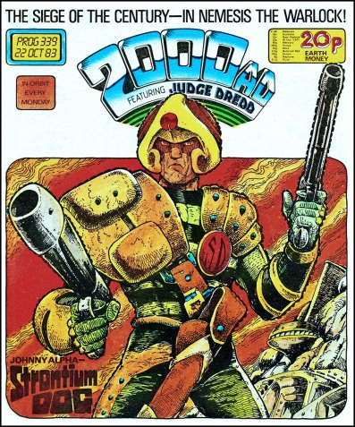 2000AD comic Prog #339 cover