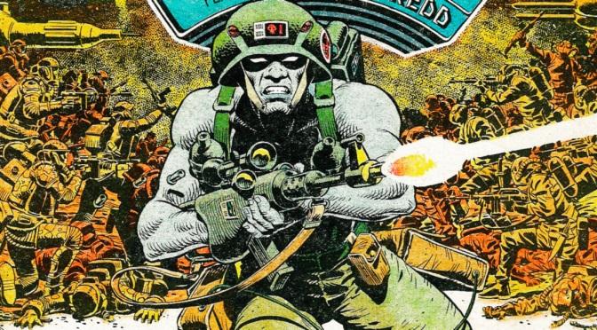2000AD comic Prog #228 (5th September 1981)