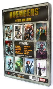 Avengers Steel Gallery Portfolio back cover