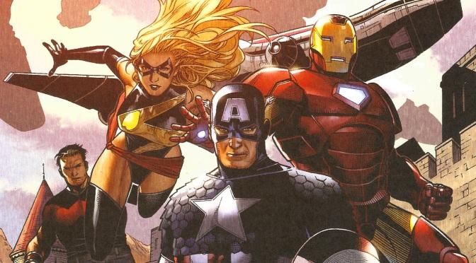 Avengers Steel Gallery Portfolio (2014)