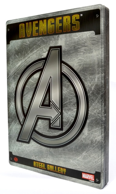 Avengers Steel Gallery Portfolio front cover