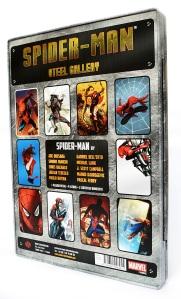 Spider-Man Steel Gallery Portfolio back cover