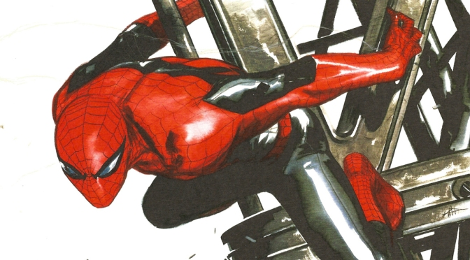 Spider-Man Steel Gallery Portfolio (2014)