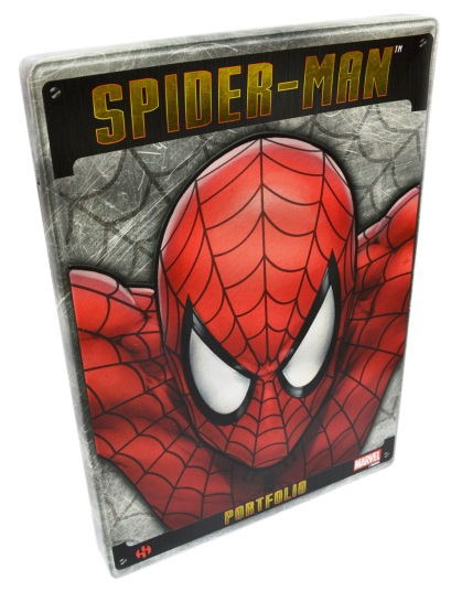Spider-Man Steel Gallery Portfolio cover
