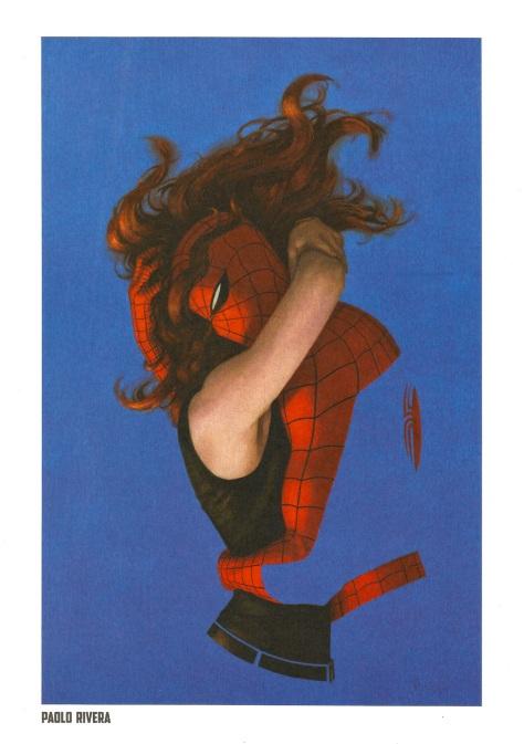 Spider-Man Steel Gallery Portfolio. Artwork by Paolo Rivera.