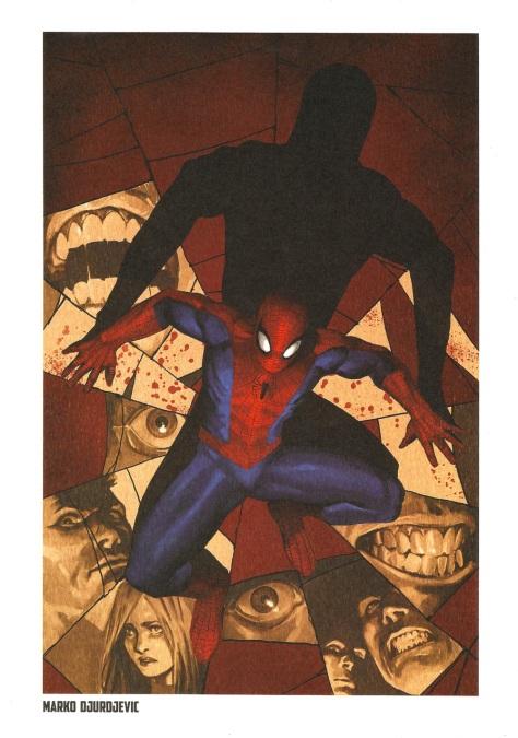 Spider-Man Steel Gallery Portfolio. Artwork by Marko DJurdjevic.