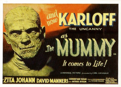 Universal Monsters of the Silver Screen Trading Cards Lobby Sticker S3