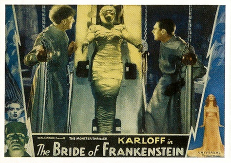 Universal Monsters of the Silver Screen Trading Cards Lobby Sticker S5