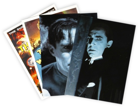 Universal Monsters of the Silver Screen chase cards
