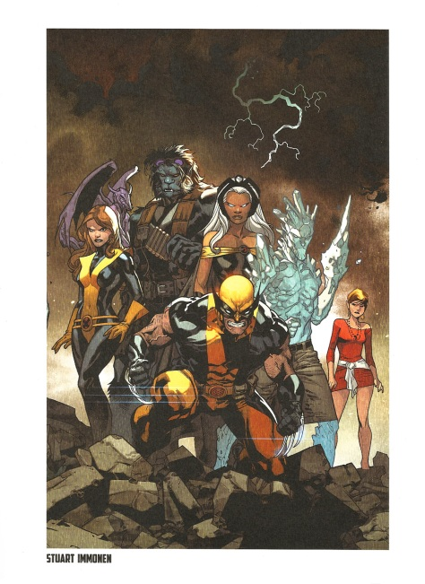 X-Men Steel Gallery Portfolio. Artwork by Stuart Immonen