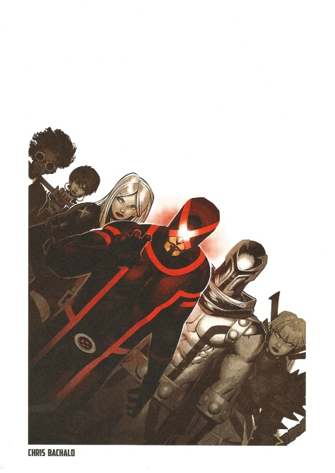 X-Men Steel Gallery Portfolio. Artwork by Chris Bachalo