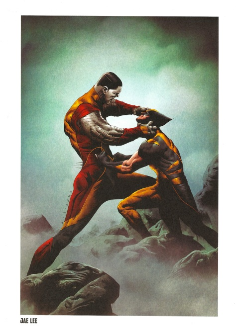 X-Men Steel Gallery Portfolio. Artwork by Jae Lee