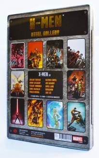 X-Men Steel Gallery Portfolio back cover