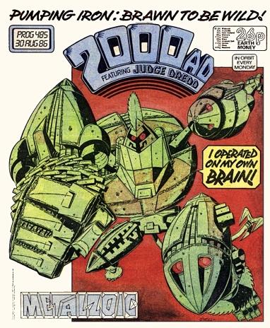 2000AD comic Prog #485
