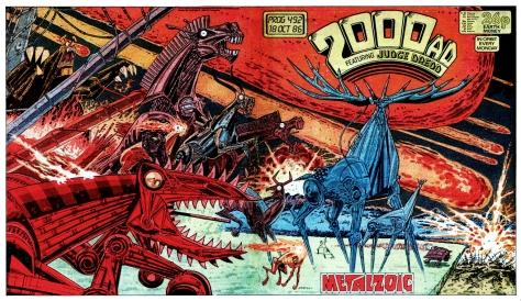 2000AD comic Prog #492