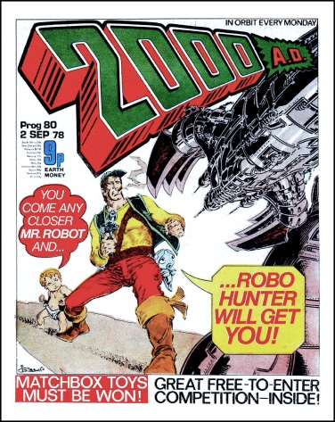2000 AD comic Prog #80 cover