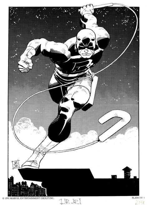 Daredevil Portfolio by John Romita JR, plate 1