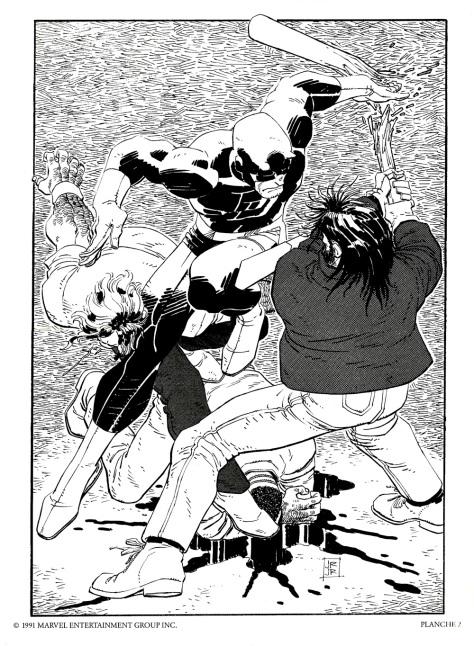 Daredevil Portfolio by John Romita JR, plate 2