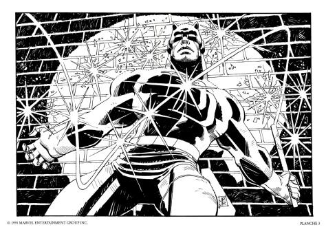 Daredevil Portfolio by John Romita JR, plate 3