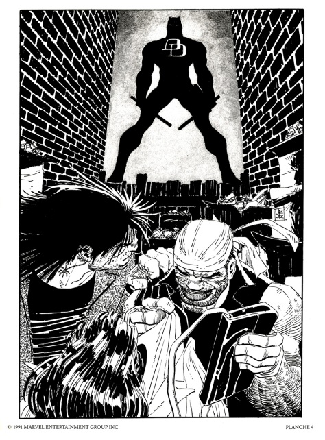 Daredevil Portfolio by John Romita JR, plate 4