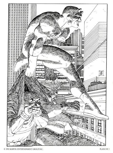 Daredevil Portfolio by John Romita JR, plate 5