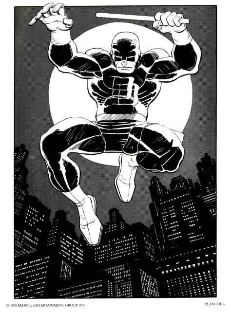 Daredevil Portfolio by John Romita JR, plate 6