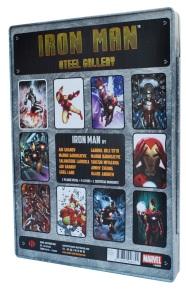 Iron Man Steel Gallery Portfolio, back cover