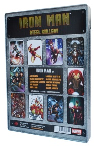 Iron Man Steel Gallery Portfolio, back cover