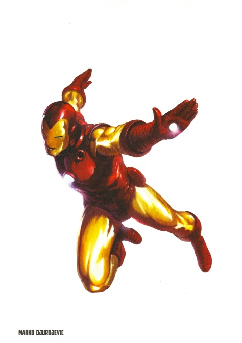 Iron Man Steel Gallery Portfolio. Artwork by Marko Djurdjevic.