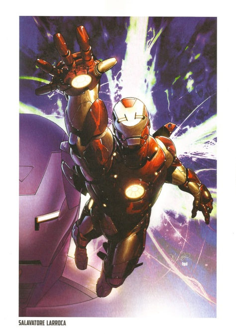 Iron Man Steel Gallery Portfolio. Artwork by Salavatore Larroca.