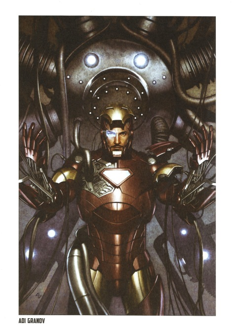 Iron Man Steel Gallery Portfolio. Artwork by Adi Granov.