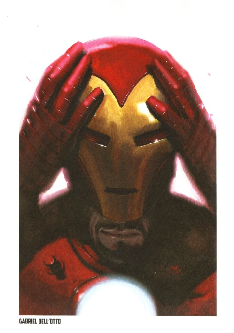 Iron Man Steel Gallery Portfolio. Artwork by Gabriel Dell'Otto.