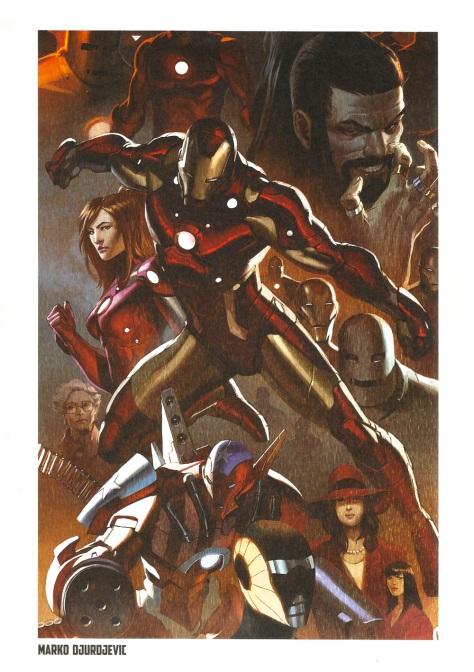Iron Man Steel Gallery Portfolio. Artwork by Marko Djurdjevic.