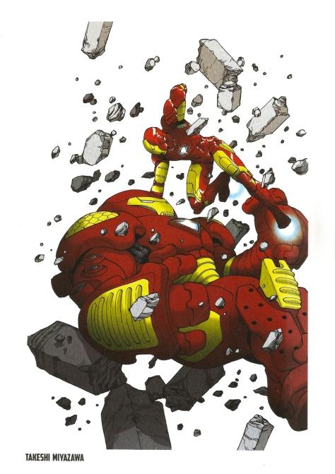 Iron Man Steel Gallery Portfolio. Artwork by Takeshi Miyazawa.