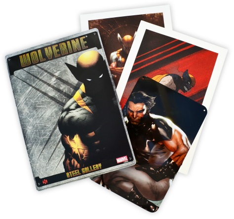 Wolverine Steel Gallery Portfolio, cover of the tin