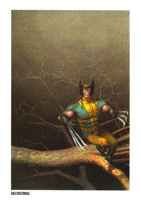 Wolverine Steel Gallery Portfolio, plate 10. Artwork by Das Pastoras.