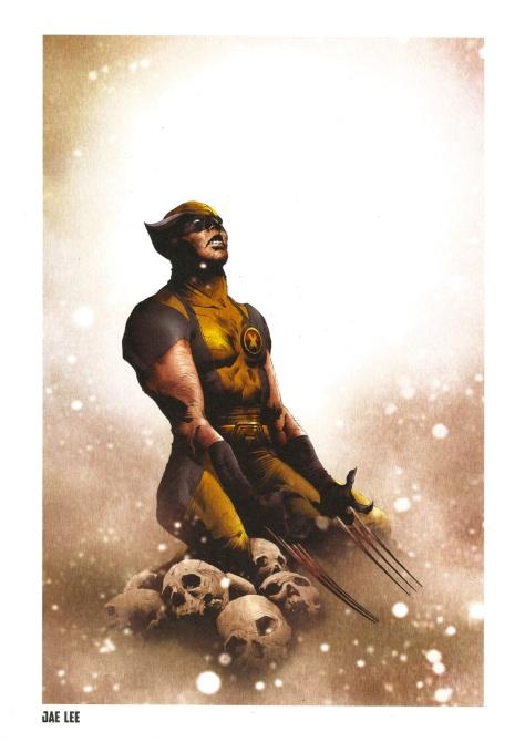Wolverine Steel Gallery Portfolio, plate 9. Artwork by Jae Lee.