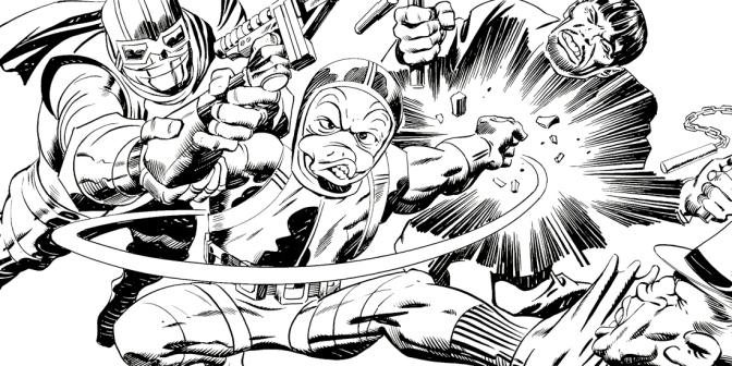 FOOG Portfolio artwork by Jack Kirby