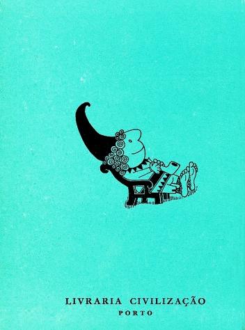 O Gnomo, 1962 by Antonio Quadros, back cover