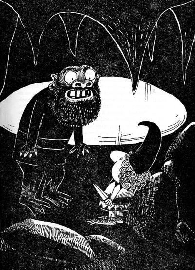 O Gnomo, 1962 by Antonio Quadros
