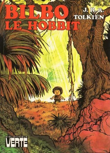 Bilbo Le Hobbit, front cover