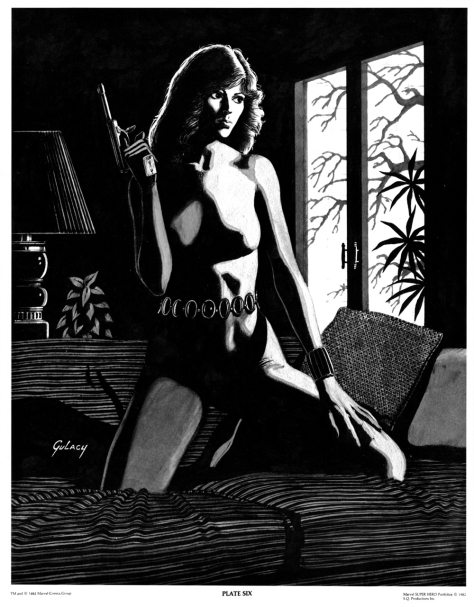 The Black Widow Portfolio by Paul Gulacy