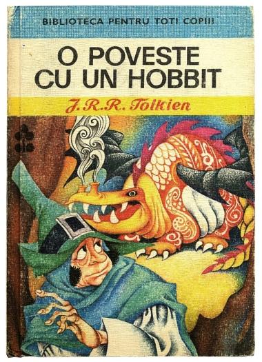 O Poveste Cu Un Hobbit by Livia Rusz