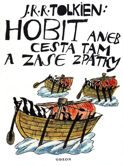 The Hobbit or There and Back Again, front cover
