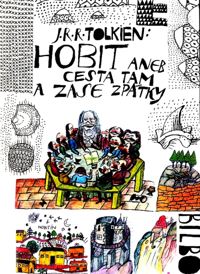 The Hobbit or There and Back Again. artwork by Jiří Šalamoun